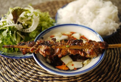 Bun Cha Makanan Khas Vietnam