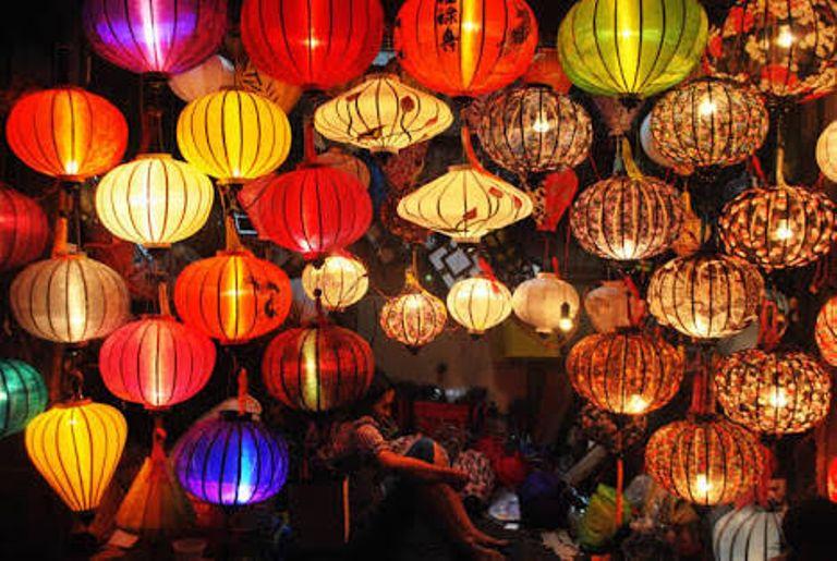Night Market Hoi An Vietnam