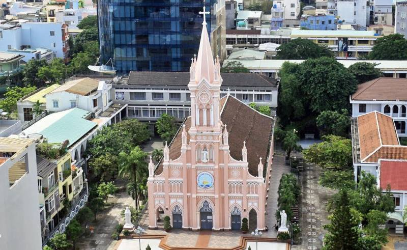 Katedral Pink Danang Vietnam