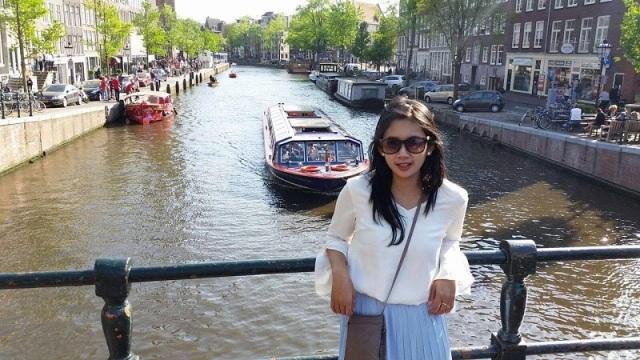 Amsterdam dengan Bersepeda