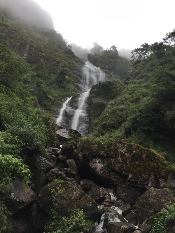 Silver Waterfall Sapa Vietnam