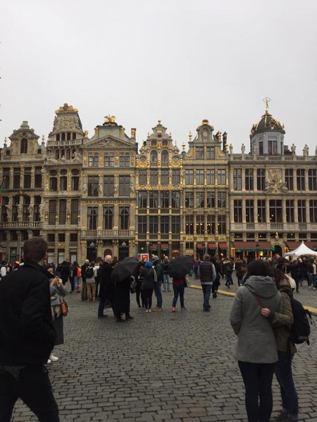 Grand Place Brussels, Belgia