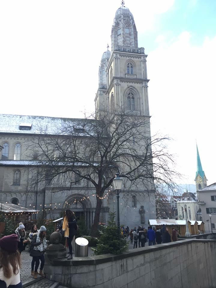 Jajal Shopping Street Termahal di Eropa di Zurich, Swiss
