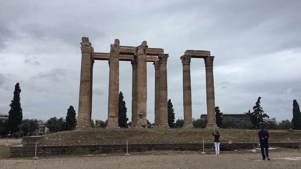 Megahnya Parthenon, Kuil Dewi Athena di Yunani