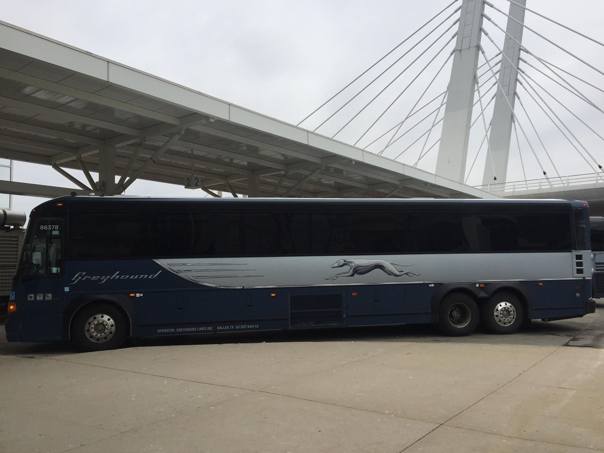 Naik bus di Amerika