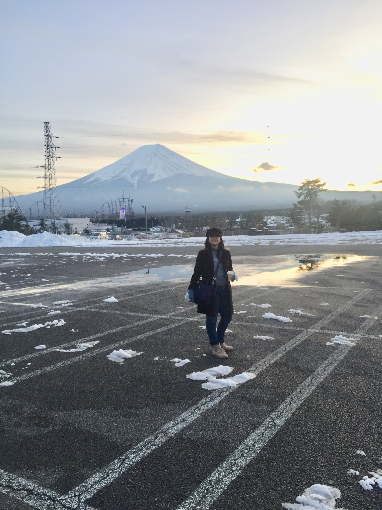 ke gunung Fuji